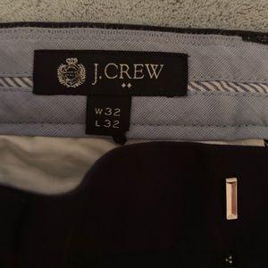 Men's J. Crew factory navy blue chino pant